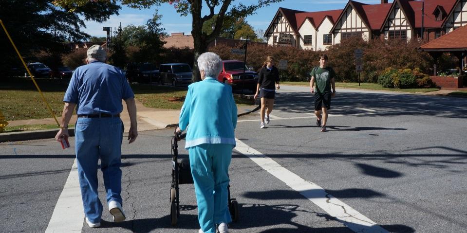 Age Friendly Cross Walk
